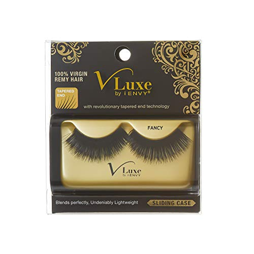 Kiss Vluxe by I Envy 100% Virgin Remy Human Hair Eyelashes Fancy VLE06