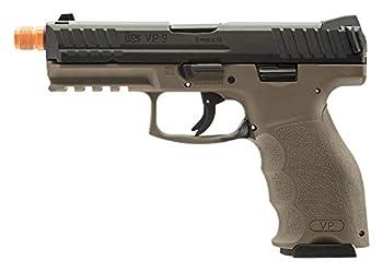 Elite Force HK Heckler & Koch VP9 GBB Blowback 6mm BB Pistol Airsoft Gun FDE Multi One Size  2275025