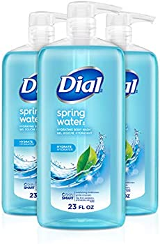 3-Pack Dial Spring Water Body Wash, 23 Oz