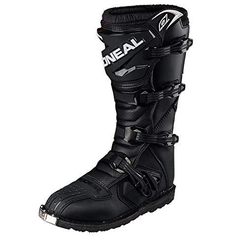 O'Neal Rider Boot MX Stiefel Schwarz Moto Cross Motorrad Enduro Boots, 0329-1, Größe 44