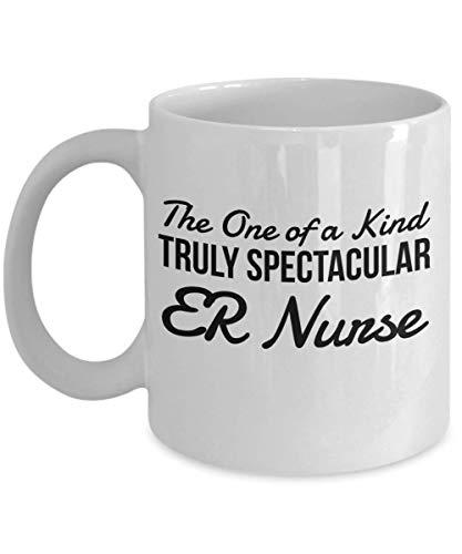 chipo Kaffee-Haferl ER Nurse Gifts - Das Unikat Wirklich spektakuläre Becher, Neuheit Wertschätzung Danke Geschenkideen für Weihnachten oder Geburtstag, 11 Unzen Kaffeetasse