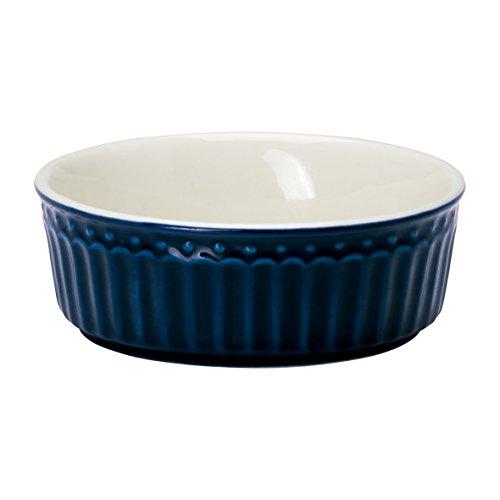 GreenGate STWPIEASALI2206 Alice Auflaufform Dark Blue 10,5 cm (1 Stück)