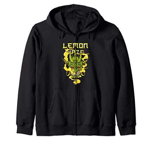 Regalo de marihuana Lemon Haze para hombre y mujer Sudadera con Capucha