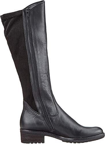 Gabor Shoes Damen Fashion Hohe Stiefel, Schwarz (Schwarz 30), 40 EU