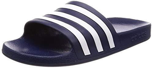Adidas Unisex-Erwachsene ADILETTE AQUA Dusch- & Badeschuhe, Blau (Navy F35542), 40.5 EU