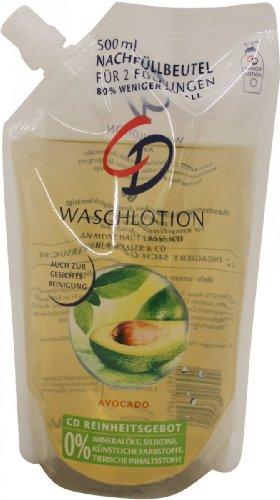 CD Waschlotion Avocado Nachfüller 500ml