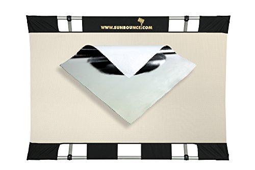 Sunbouncer Mini Kit silber - Rückseite weiß (nahtlos)