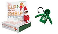 Elf on the Shelf Blue Eyed Boy Elf With Claus Couture Jingle Jam Hoodie Novelty