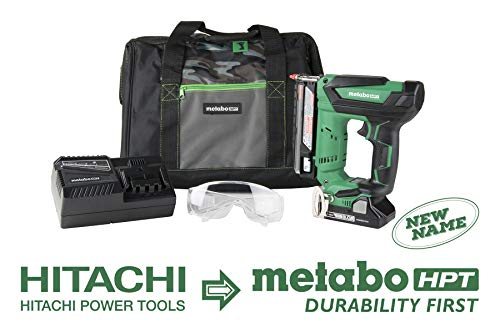 Metabo HPT Cordless Pin Nailer Kit, 18V, 23 Gauge, 5/8' up to 1-3/8' Pin Nails, 3000 Nails Per...