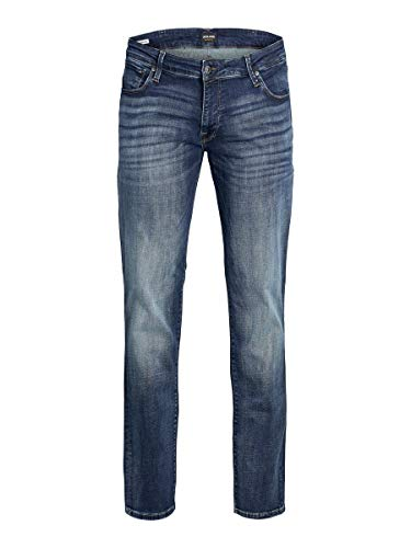 JACK & JONES Herren Plus Size Slim Fit Jeans Tim ICON JJ 057 50SPS 4632Blue Denim