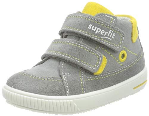 Superfit Moppy Sneaker, GRAU/GELB, 24 EU