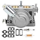 Carburador de repuesto para carburador, filtro de aceite, kit de bujías, accesorios para cortadora de césped, aleación de aluminio 791230, juego de carburador, para tractores de césped Z425 EZtrak