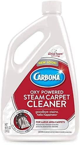 Delta Carbona Max Be super welcome 64% OFF 2in1 Oxypowered Steam Oun Cleaner Fluid Carpet 48
