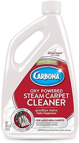 Delta Carbona 2in1 Oxypowered Steam Carpet Cleaner, 48 Fluid Ounce