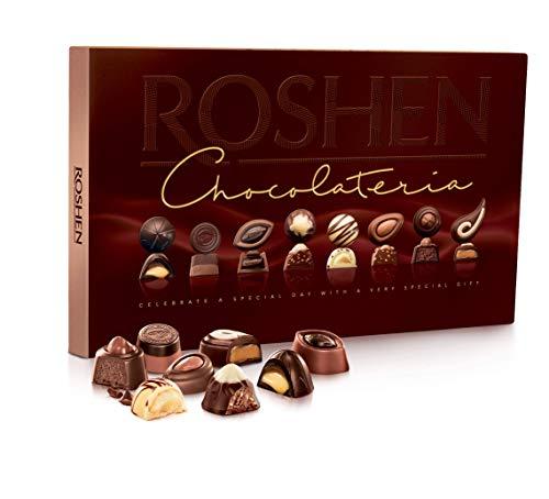 Roshen Assortment 'Chocolateria' Candy Gift Box (194gr/6.84oz)