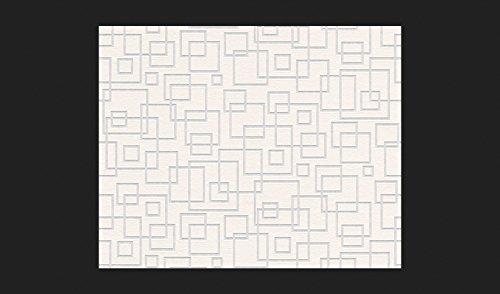 A.S. Création, verniciabile carta da parati non tessuto carta da parati in tessuto non tessuto 10,05m x 0,53m Bianco Made in Germany 5197195197–19