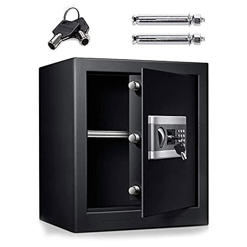 GQTYBZ Cajas para Caja Fuerte de Seguridad para el Hogar, Cajas Fuertes Digitales para el Hogar Seguridad con Llave Electrónica, Adecuada para El Hogar/Oficina/Interior, Etc.