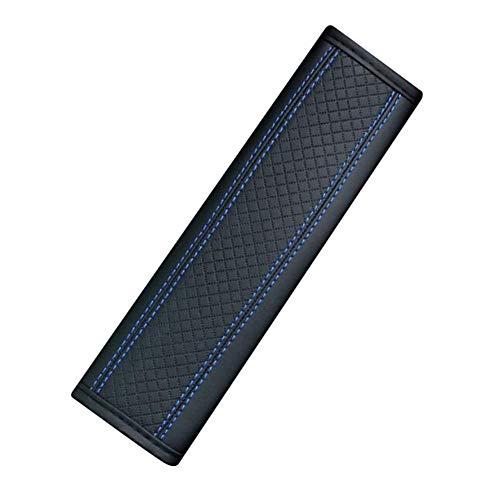 Cojines para cinturón de coche,Extensor de clip para cinturón de seguridad de coche Cuero de PU Cojín para cinturón de seguridad Funda para cinturón de seguridad Hombro Protección transpirable