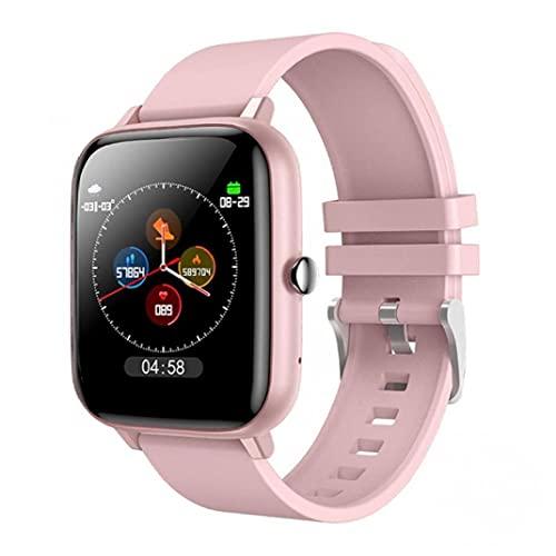 YepYes Inteligente inalámbrico Reloj Impermeable Llamada Sport SmartWatch de Seguimiento del Ritmo cardíaco Dispositivo Rosa Reloj Pulsera