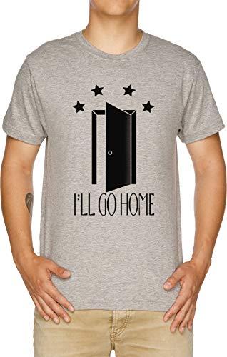 Vendax Ill Go Home Pocket Open Door - Everyday Shane Dawson Discounted Camiseta Hombre Gris