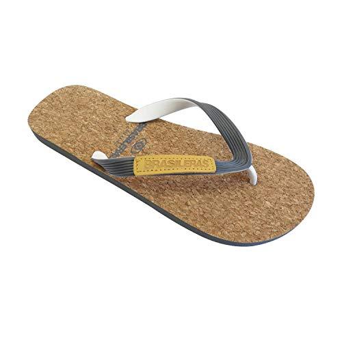 Chanclas de Playa BRASILERAS®,Gin Corcho. Suela Antideslizante del 39 al 46. Hombre para Interior/Exterior. Zapatos de Piscina