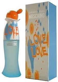I Love Love Perfume By Moschino 1.0 oz / 30 ml Eau De Toilette(EDT) New In Retail Box