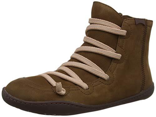 CAMPER Damen Peu Hohe Sneaker, Braun (Medium Brown 210), 39 EU