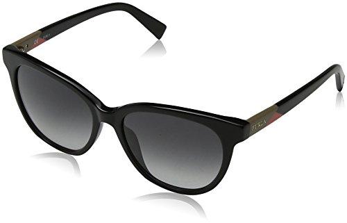 FURLA Eyewear Donna N/A Occhiali da sole, Nero (Shiny Black), 54