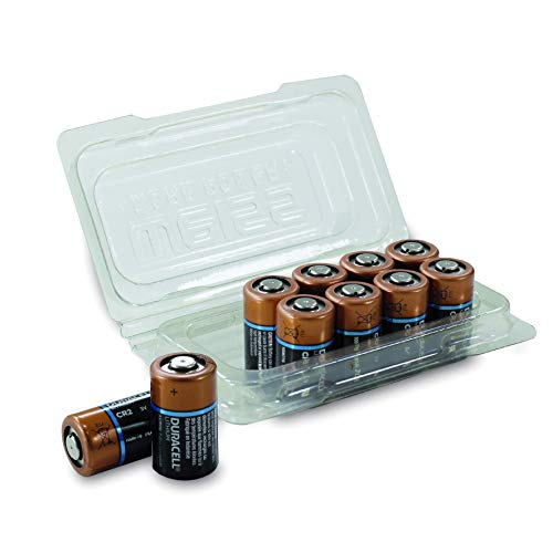 Duracell CR17355 High Power Lithium Batterie CR 2 (10er Box) Schwarz/Kupfer
