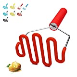 Jell-Cell Potato Masher - Silicone Protect Body with Premuim Stainless...