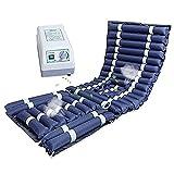 XGYUII Colchón de aire anti decúbito para cama de hospital estándar o cama casera incluye bomba de aire silenciosa eléctrica 190 × 90 × 8 cm