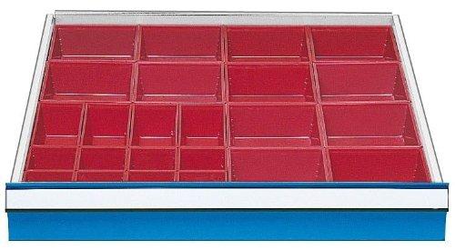 Schubladeneinsatz Serie 700 Kleinteilekästen Schubladenschränke Schubladeneinsätze