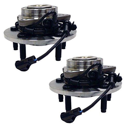 HU515073 x2 Brand New Front Set Wheel Bearing Hub Assembly 4-Wheel ABS