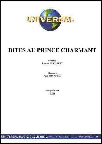 DITES AU PRINCE CHARMANT