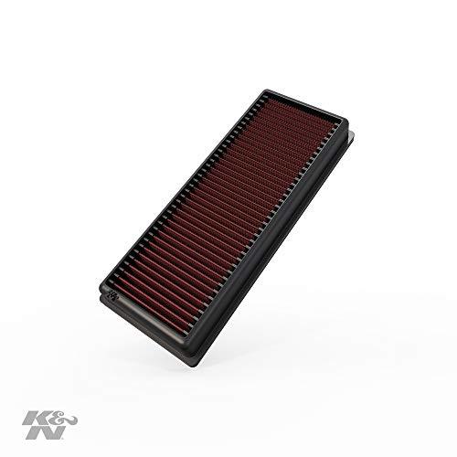 K&N 33-2945 Motorluftfilter: Hochleistung, Prämie, Abwaschbar, Ersatzfilter, Erhöhte Leistung, 2007-2017 Quattro, Q5, A4, A5