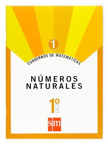 Cuaderno 1 de matemáticas. 1 ESO. Números naturales - 9788467515619