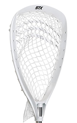 STX Lacrosse Shield 100 Goalie Strung Head, White
