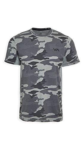 RVCA mens Sport Vent Short Sleeve Crew Neck Pocket T-shirt T Shirt, Camo, XX-Large US