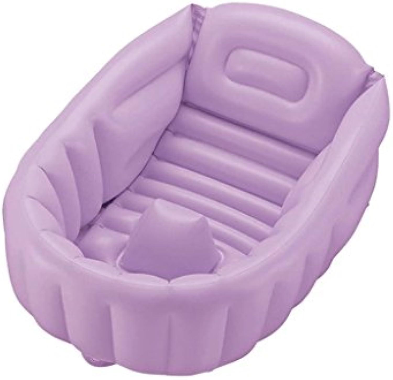 Aufblasbare Badewanne Neonatal Baby Badewanne Sende Luftpumpe ( Farbe   A )