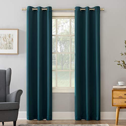 cortina verde fabricante Sun Zero
