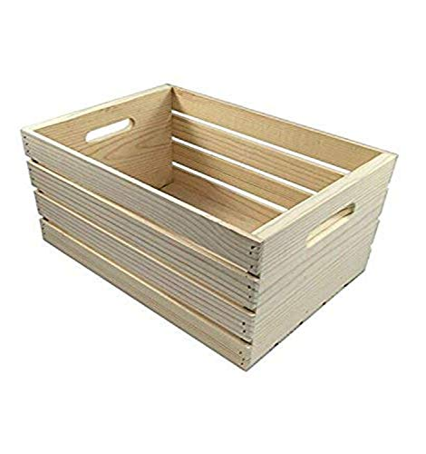 MPI WOOD Large Crate, Natural, 18' x 12.5' x 9.5'