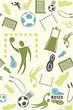 Notes: Carnet de Notes pour passionné de Handball - Journal lignés pour les sportifs - cadeau idéal pour handballeur - Dimension 15,24 x 22,86 cm 120 pages