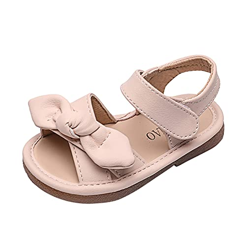 YWLINK Sandalias NiñA Verano Zapatos ReciéN Nacido Plano Casual Comodas,Zapatos De Princesa Con Lazo De Suela Suave Antideslizante Para NiñOs Zapatos De ActuacióN De Escenario Zapatos Individuales