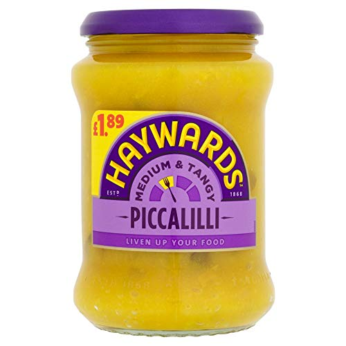 Haywards Medium & Tangy Piccalilli 400 g x 2