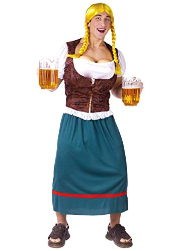 Fun World Mens German Beer Girl Costume Standard