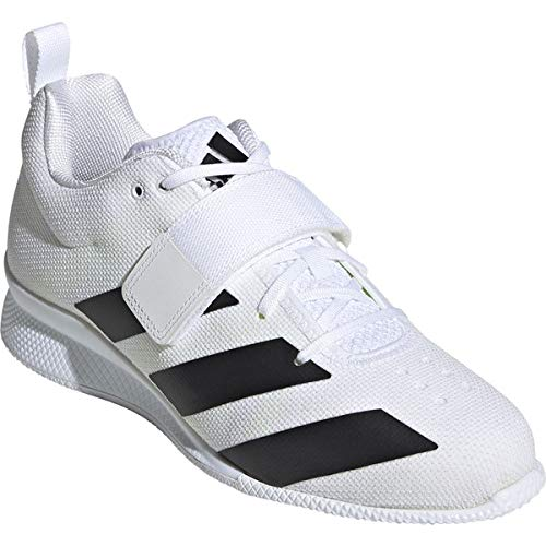 adidas Adipower Weightlifting II Mens Trainer Shoes White/Black Size 5.5