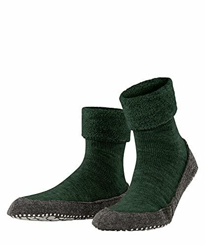 FALKE Herren Cosyshoe M HP Hausschuh-Socken, Grün (Green Mel. 7318), 41-42