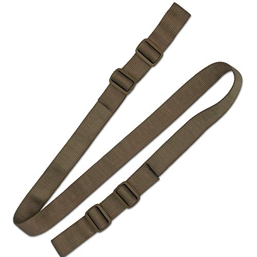 2/ Point Bungee Rifle Sling Verstellbarer Heavy Duty Gurtband Schultergurt