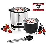 WMF KÜCHENminis 3 in 1 Eismaschine, Speiseeismaschine für Frozen Joghurt, Sorbet und Eiscreme, Eismacher, Gefrierbehälter 300 ml, 30-Minuten-Time