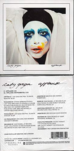 Applause Import, Single edition by Lady Gaga (2013) Audio CD